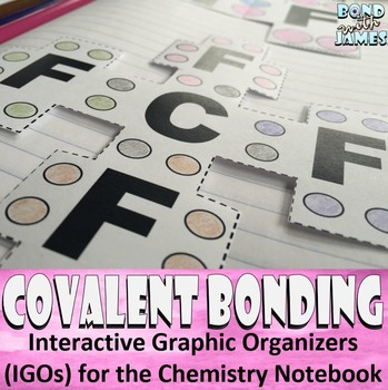 Covalent (Molecular) Bonding and Compounds for Chemistry Interactive Notebooks
