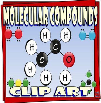 Molecular Compounds Clip Art