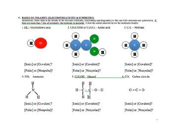 Covalent Versus Ionic Compounds