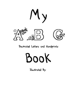 Cover + Alphabet Book + Parent Letters