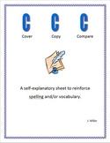 Cover, Copy and Compare