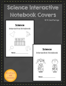 Cover For Interactive Notebook Science