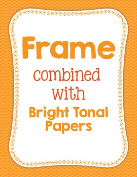 Cover Frame Bundle #2: Square and Rectangle Clip Art Frames in Multiple Colors