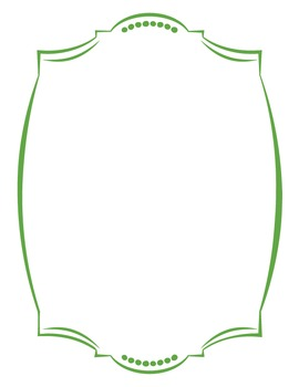 Cover Frames: Square and Rectangle Alamo-ish Style Clip Art Frames in 13 Colors