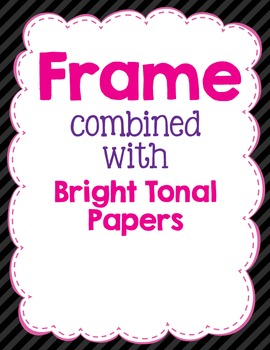 Cover Frames: Square and Rectangle Cushiony Soft Clip Art Frames in 13 Colors