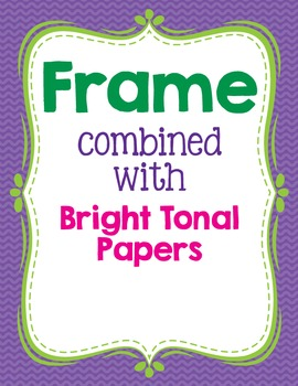 Cover Frames: Square and Rectangle Pretty Bitty Clip Art Frames in 13 Colors