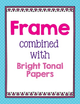 Cover Frames: Square and Rectangle Safari Style Art Frames in 14 Colors