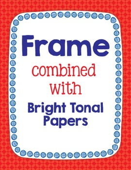 Cover Frames: Square and Rectangle Scribble Dot Clip Art Frames in 13 Colors