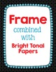 Cover Frames: Square and Rectangle Wacky Scallop Style Art