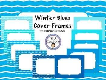 Cover Frames - Winter Blues
