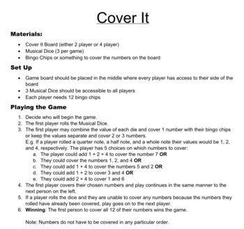Cover It Rhythm Game