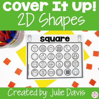Cover It Up 2D Shapes