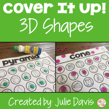 Cover It Up 3D Shapes