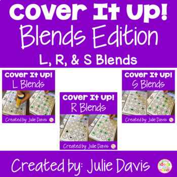 Small Group Blends BUNDLE Worksheets and Activities