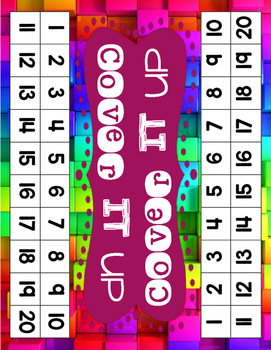 Cover It Up Number Recognition Game