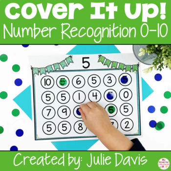 Number Recognition Worksheets Identification Activities 0-10