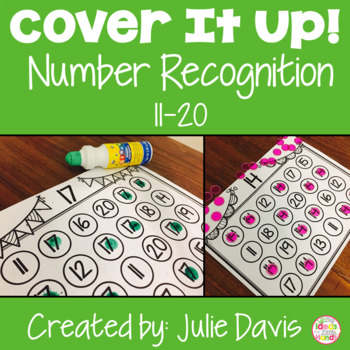 Cover It Up Number Recognition Identification 11-20
