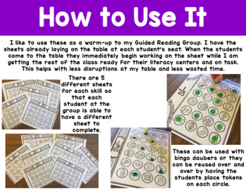 Small Group S Blends Worksheets and Activities