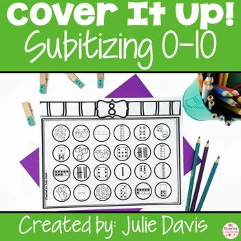 Subitizing Worksheets Numbers Activities 0-10