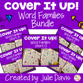 Word Families Bundle Worksheets and Activities