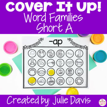 Cover It Up Word Families Short A
