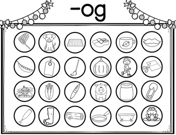Word Families Activities Short O Worksheets