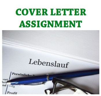 Cover Letter Assignment