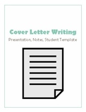 Cover Letter Unit with Presentation and Template