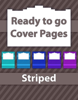Cover Pages and Frames
