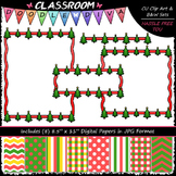 Cover Page Kit (Dec.) - Christmas Clip Art - CU Clip Art,