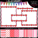 Cover Page Kit (Feb.) - Valentine Clip Art - CU Clip Art,