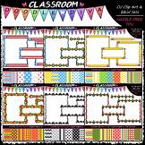 Cover Page Kit July-Dec. Clip Art Bundle (6 Sets) - Clip Art/B&W/Papers