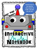 Interactive Notebook Robots Theme