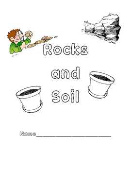 Cover Page for Rocks and Soil