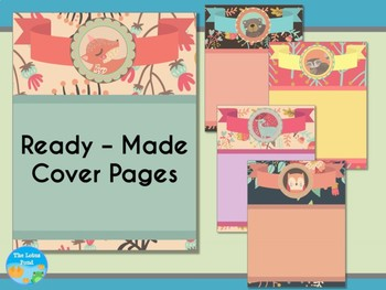Cover Pages: Ready Made Cover Pages - Pastel Woodland