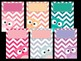 Cover Pages: Ready Made Cover Pages and Binder Covers - Patchwork Owls - Chevron