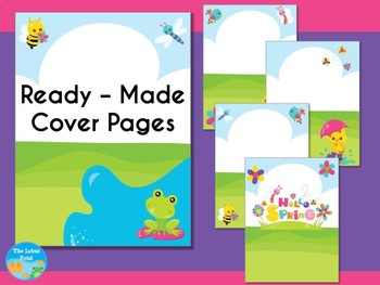 Cover Pages: Ready Made Cover Pages and Binder Covers - Spring Has Sprung