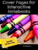 Cover Pages for Interactive Notebooks (Spanish)