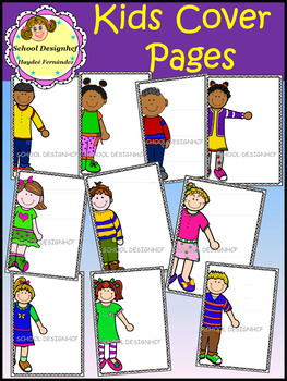 Cover Pages with Kids (School Designhcf)