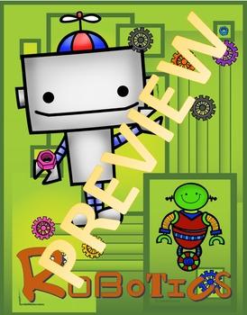 Cover Sheet- Robotics