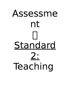 Cover Sheet & Tabs for Teacher Evaluation System