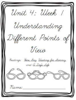 Fourth Grade Benchmark Advance Cover Sheets for Each Unit