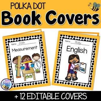 Editable Cover Sheets - Polka Dots