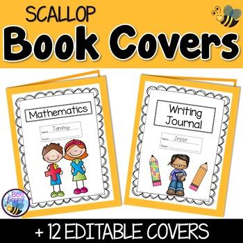 Editable Cover Sheets - Scallops