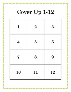 Cover Up 1-12