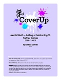 Cover Up A Mental Math Partner Game