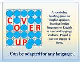 Cover Up: A game for Foreign Language and ESL Vocabulary Instruction