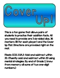 Cover Up Addition Game