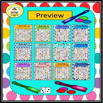 Cover Up Articulation  Speech Therapy Game
