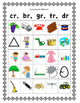 Cover Up - Consonants, consonant blends/digraphs, initial/medial vowels